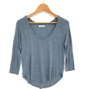 Madewell Anthem Scoop Top Blouse